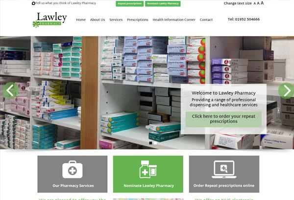 shrewsbury website, telford design
