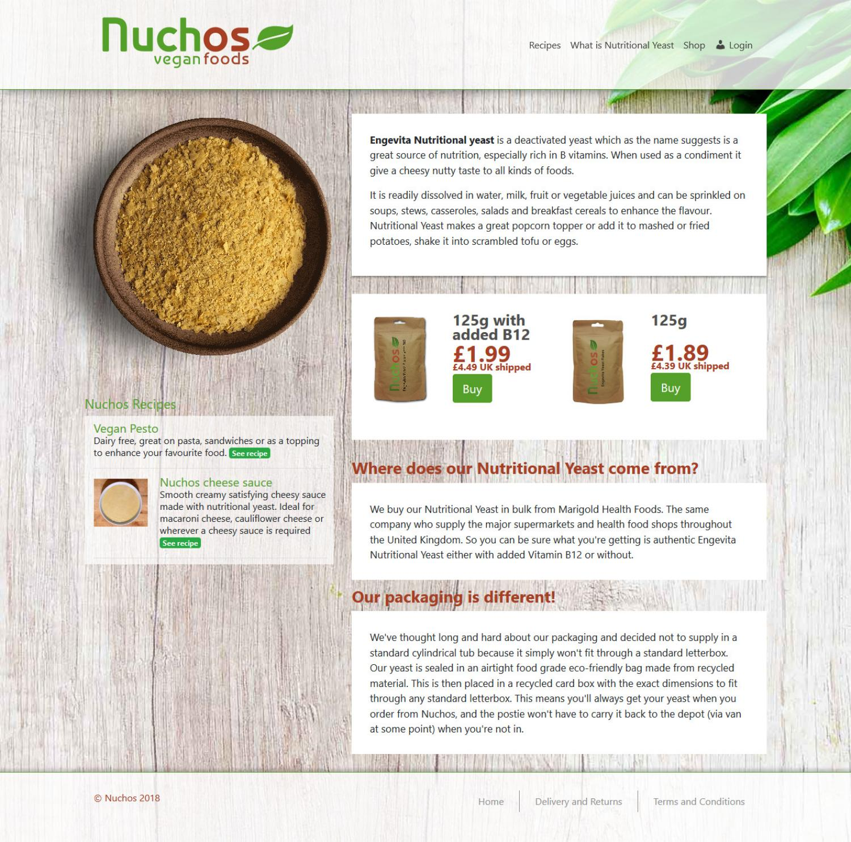 Nuchos Vegan Foods