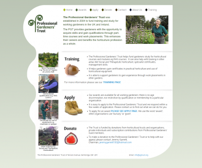 The Professional Gardeners' Trust